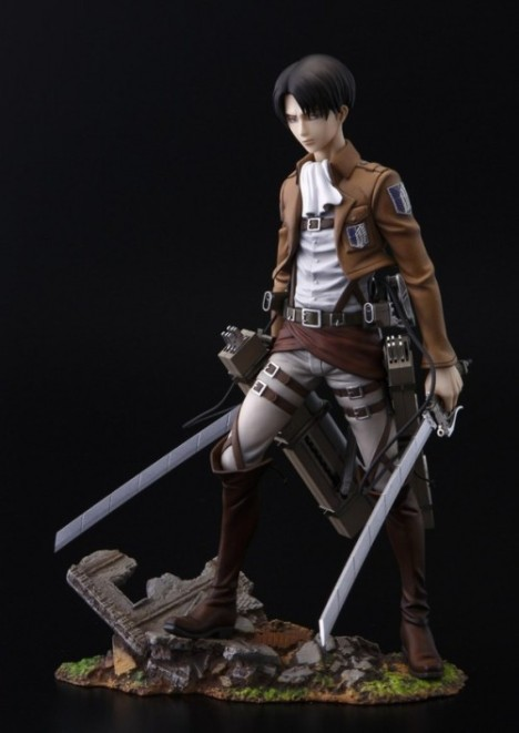 Levi - Shingeki no Kyojin - Attack on Titan - Brave Act - 18 Pre-Painted Figure 2