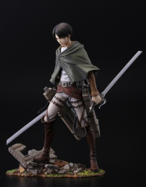 Levi - Shingeki no Kyojin - Attack on Titan - Brave Act - 18 Pre-Painted Figure 3