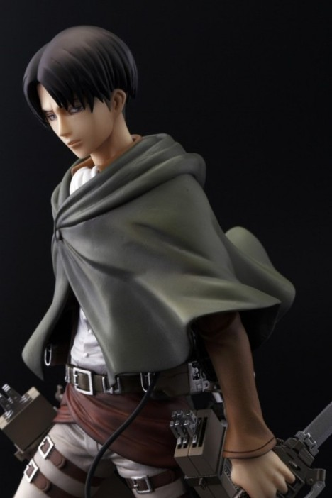 Levi - Shingeki no Kyojin - Attack on Titan - Brave Act - 18 Pre-Painted Figure 5