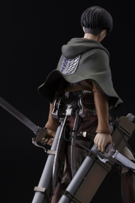 Levi - Shingeki no Kyojin - Attack on Titan - Brave Act - 18 Pre-Painted Figure 6