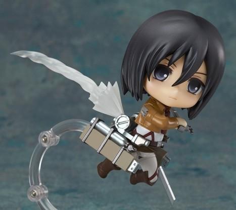 Mikasa Ackerman - Nendoroid Attack on Titan Shingeki no Kyojin Non Scale Pre-Painted PVC Figure 5