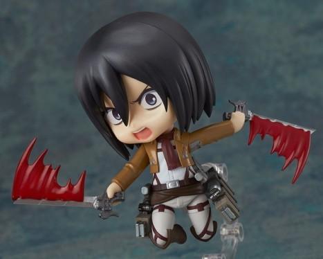Mikasa Ackerman - Nendoroid Attack on Titan Shingeki no Kyojin Non Scale Pre-Painted PVC Figure 6
