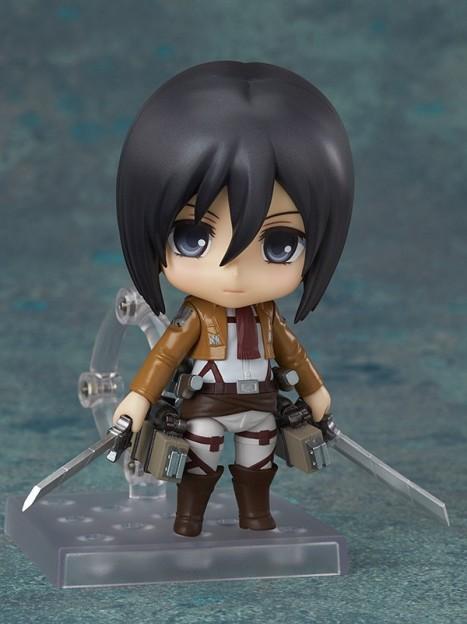 Mikasa Ackerman - Nendoroid Attack on Titan Shingeki no Kyojin Non Scale Pre-Painted PVC Figure