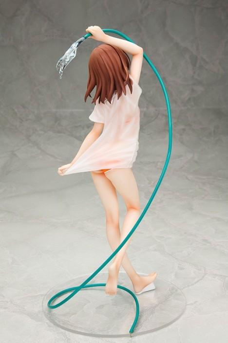 Misaka Mikoto DX Swimsuit ver. - To Aru Kagaku no Railgun S 16 Pre-Painted Figure2