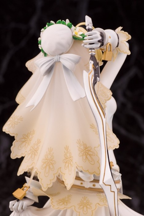 Saber Bride - FateExtra CCC - 18 Pre-Painted Figure 3