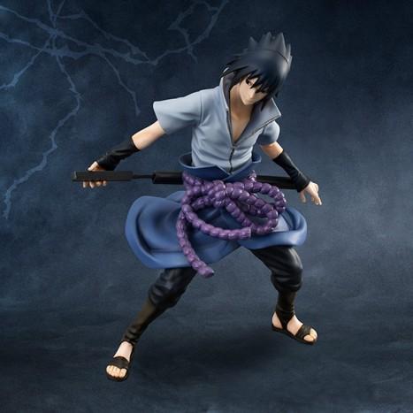 Uchiha Sasuke - Naruto Shippuuden G.E.M. 18 Pre-Painted Figure 3