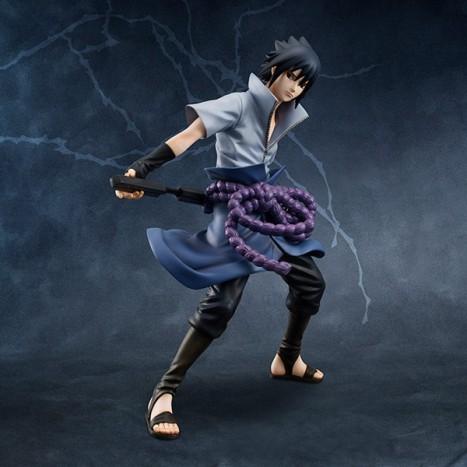 Uchiha Sasuke - Naruto Shippuuden G.E.M. 18 Pre-Painted Figure