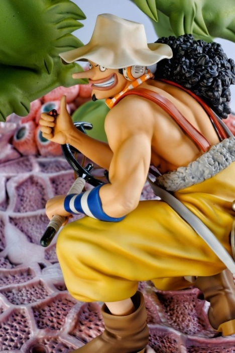 Usopp New World Ver. - One Piece HQS Pre-Painted Figure Tsume8