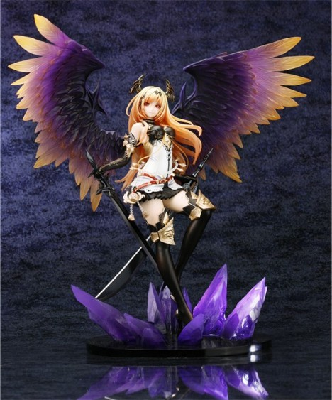 Dark Angel Olivia Olivier - Shingeki no Bahamut 18 Pre-Painted Figure 6