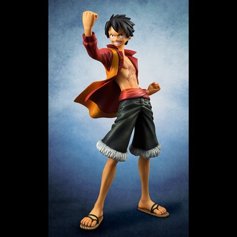 Monkey D. Luffy - One Piece Film Z - Excellent Model - Portrait Of Pirates Edition-Z Pre-Painted Figure 2
