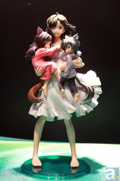 Ookami Kodomo no Ame to Yuki - Ame - Hana - Yuki - Super Figure Art Collection
