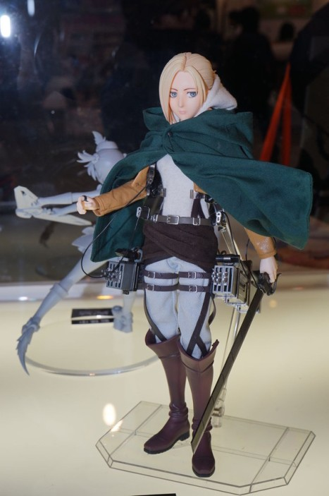 Shingeki no Kyojin - Annie Leonhart - Real Action Heroes (Medicom Toy)
