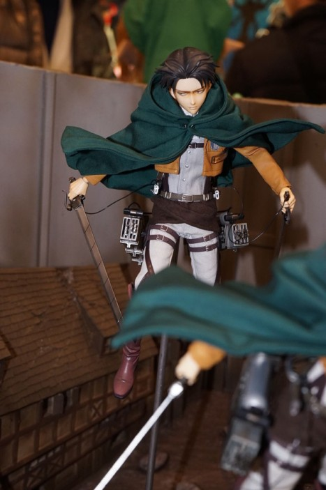 Shingeki no Kyojin - Levi - Real Action Heroes (Medicom Toy)