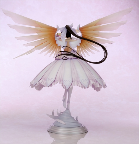 Sakuya -ModeSeraphim - Shining Ark - 18 Pre-Painted Figure