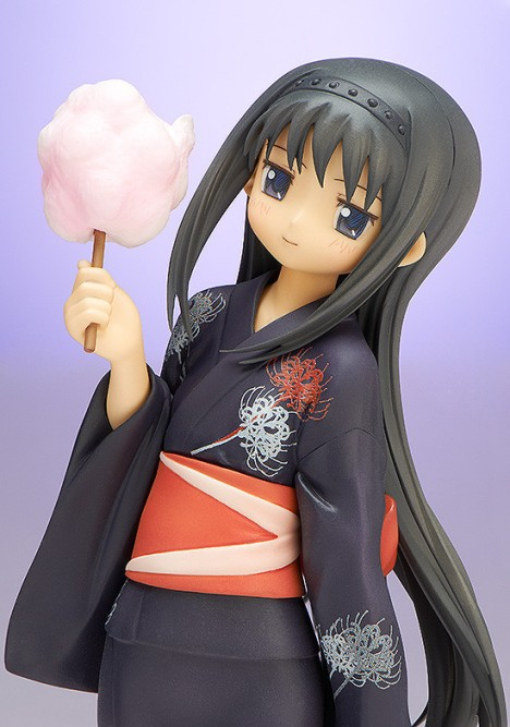 Akemi Homura Yukata Ver. - Gekijouban Mahou Shoujo Madoka Magica 18 Pre-Painted Figure 3