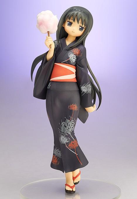 Akemi Homura Yukata Ver. - Gekijouban Mahou Shoujo Madoka Magica 18 Pre-Painted Figure