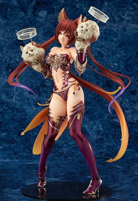 Cerberus  - Shingeki no Bahamut - 17 Pre-Painted Figure