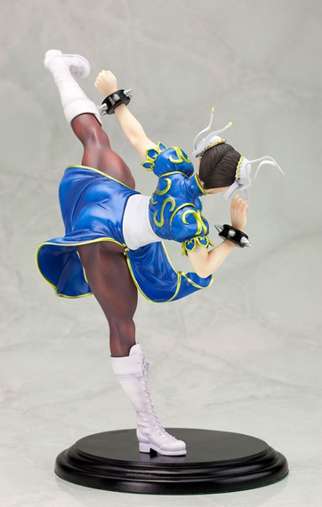 Chun-Li - Street Fighter x Tekken - Bishoujo Statue - Street Fighter x Bishoujo 17 Pre-Painted Figure 3