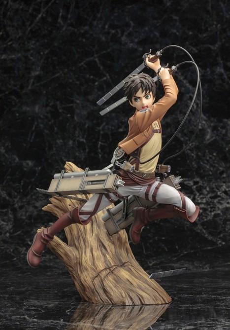 Eren Yeager - Shingeki no Kyojin -  18 ARTFX J Pre-Painted Figure 3