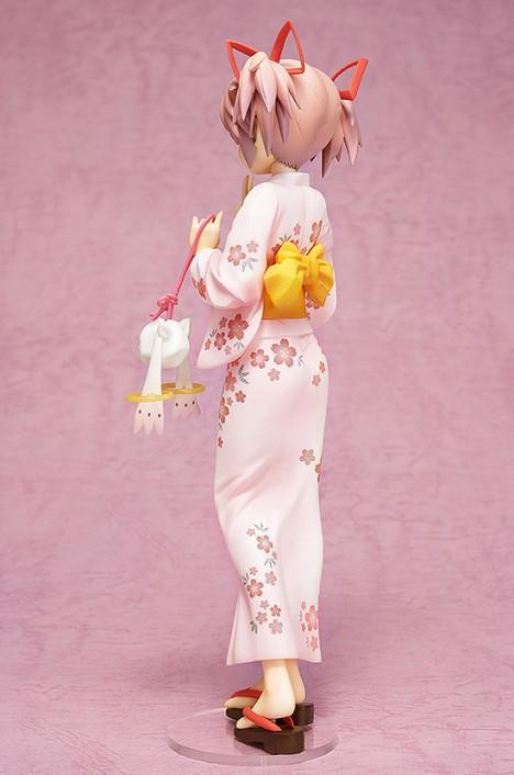 Kaname Madoka Yukata Ver. - Gekijouban Mahou Shoujo Madoka Magica 18 Pre-Painted Figure 3