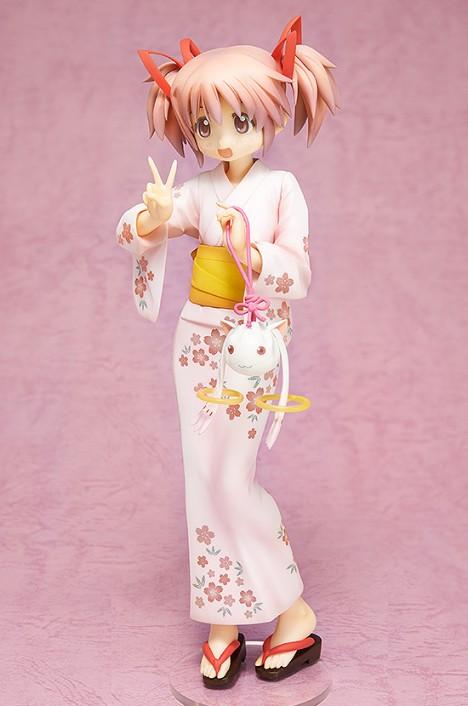 Kaname Madoka Yukata Ver. - Gekijouban Mahou Shoujo Madoka Magica 18 Pre-Painted Figure 5