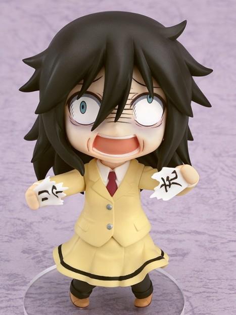 Kuroki Tomoko - Watashi ga Motenai no wa Dou Kangaete mo Omaera ga Warui! Nendoroid Pre-Painted Watamote Figure 3