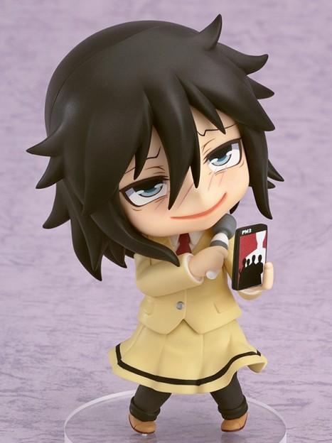 Kuroki Tomoko - Watashi ga Motenai no wa Dou Kangaete mo Omaera ga Warui! Nendoroid Pre-Painted Watamote Figure 4