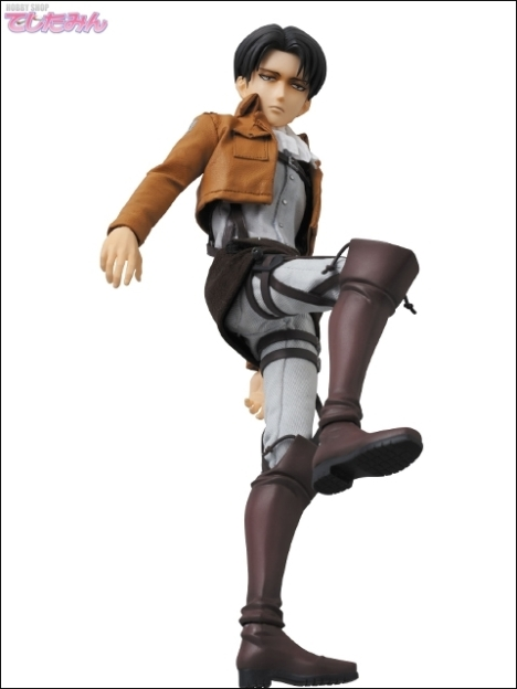 Levi - RAH - Shingeki no Kyojin - Real Action Heroes 16 Pre-Painted Action Figure 3