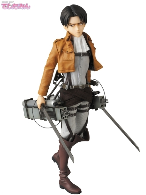 Levi - RAH - Shingeki no Kyojin - Real Action Heroes 16 Pre-Painted Action Figure 4