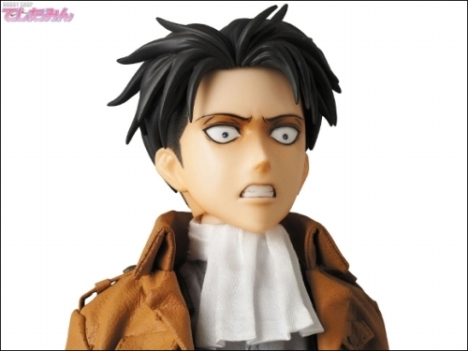 Levi - RAH - Shingeki no Kyojin - Real Action Heroes 16 Pre-Painted Action Figure 5