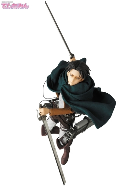 Levi - RAH - Shingeki no Kyojin - Real Action Heroes 16 Pre-Painted Action Figure 7