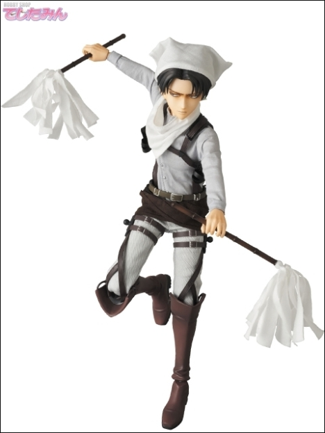 Levi - RAH - Shingeki no Kyojin - Real Action Heroes 16 Pre-Painted Action Figure 8