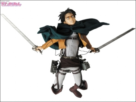 Levi - RAH - Shingeki no Kyojin - Real Action Heroes 16 Pre-Painted Action Figure 9
