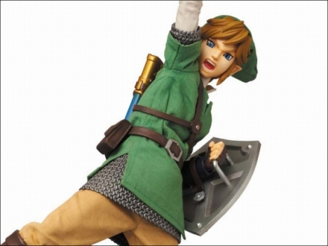 Link - Zelda no Densetsu Skyward Sword - Real Action Heroes #622 - 16 Pre-Painted Action Figure 2