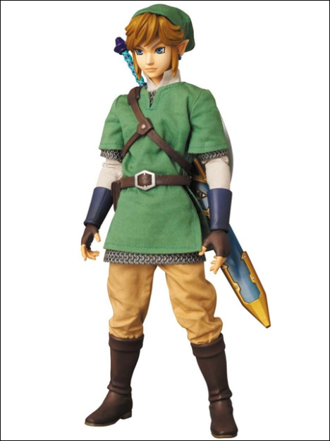 Link - Zelda no Densetsu Skyward Sword - Real Action Heroes #622 - 16 Pre-Painted Action Figure 3