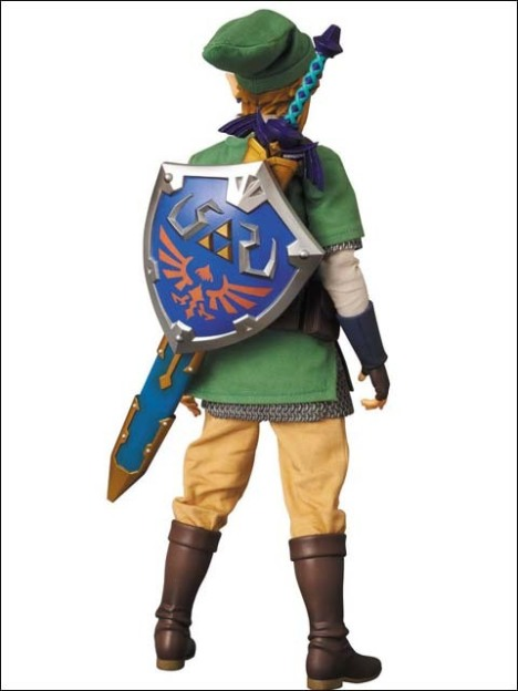 Link - Zelda no Densetsu Skyward Sword - Real Action Heroes #622 - 16 Pre-Painted Action Figure 4