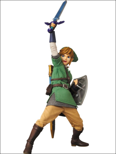 Link - Zelda no Densetsu Skyward Sword - Real Action Heroes #622 - 16 Pre-Painted Action Figure 5