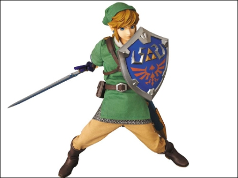Link - Zelda no Densetsu Skyward Sword - Real Action Heroes #622 - 16 Pre-Painted Action Figure 6
