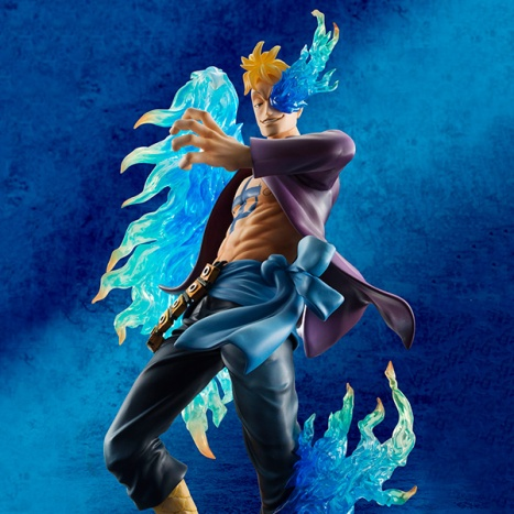 Marco - One Piece - Excellent Model - Portrait Of Pirates MAS - 18 Pre-Painted Figure 2