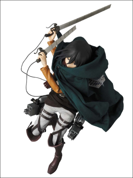 Mikasa Ackerman RAH - Shingeki no Kyojin 16 Pre-Painted Figure Real Action Heroes 2