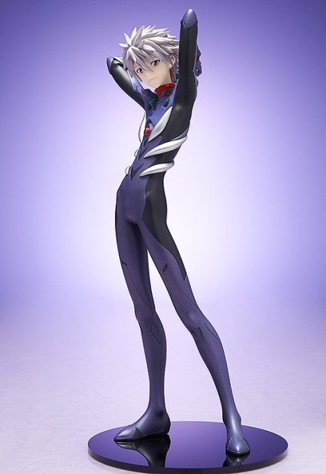 Nagisa Kaworu - Evangelion Shin Gekijouban Q - 18 Pre-Painted Figure 2