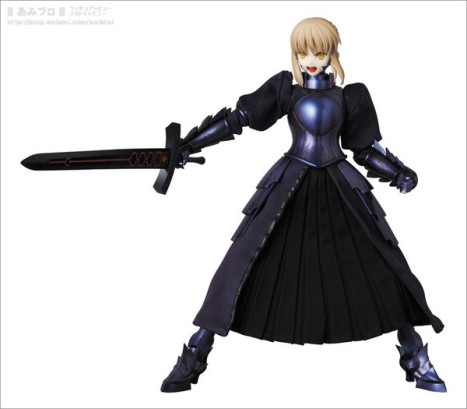 Saber Alter  RAH - FateStay Night - Real Action Heroes #637 - 16 Pre-Painted Action Figure 6