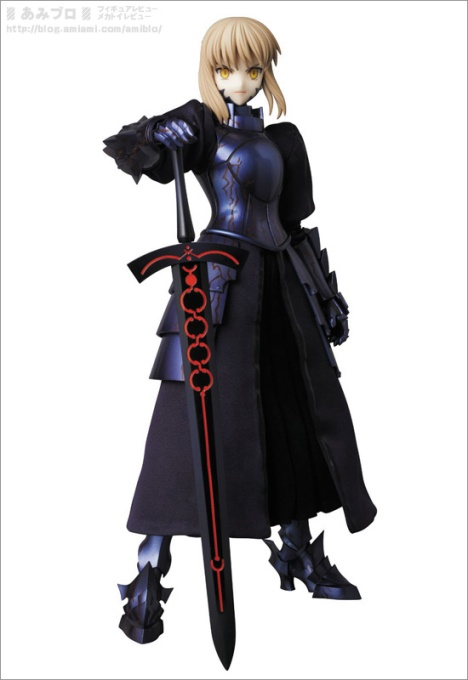 Saber Alter  RAH - FateStay Night - Real Action Heroes #637 - 16 Pre-Painted Action Figure 7