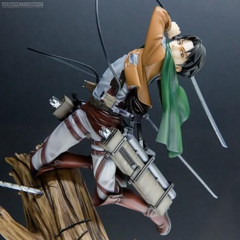 Shingeki no Kyojin - Levi - ARTFX J - 18 (Kotobukiya)