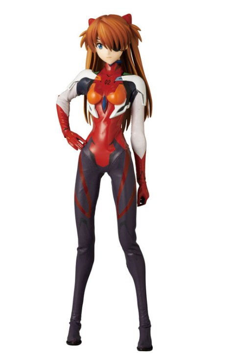 Souryuu Asuka Langley - RAH - Evangelion Shin Gekijouban Q - Real Action Heroes #640 - 16 Pre-Painted Action Figure