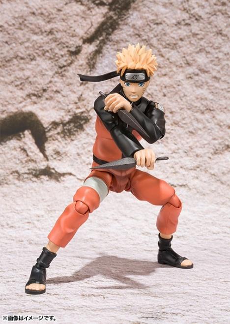 Uzumaki Naruto - Naruto Shippuuden - S.H.Figuarts Pre-Painted Action Figure 3