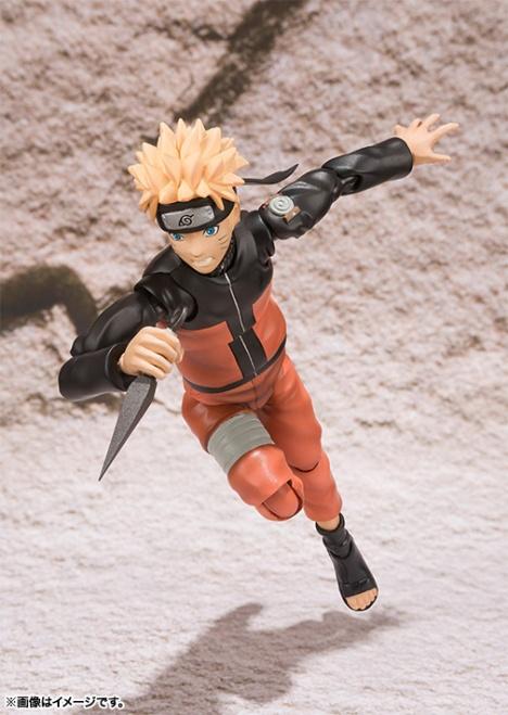 Uzumaki Naruto - Naruto Shippuuden - S.H.Figuarts Pre-Painted Action Figure 6