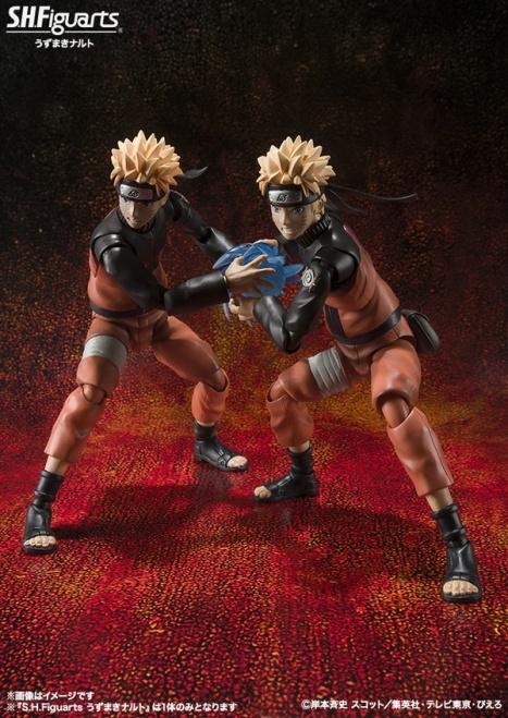Uzumaki Naruto - Naruto Shippuuden - S.H.Figuarts Pre-Painted Action Figure