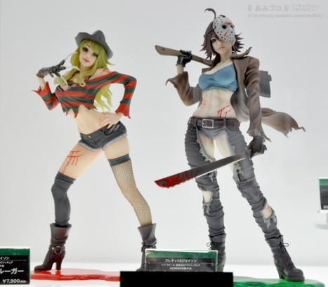 A Nightmare on Elm Street - Freddy Krueger and Jason Voorhees- Bishoujo Statue - Movie x Bi...