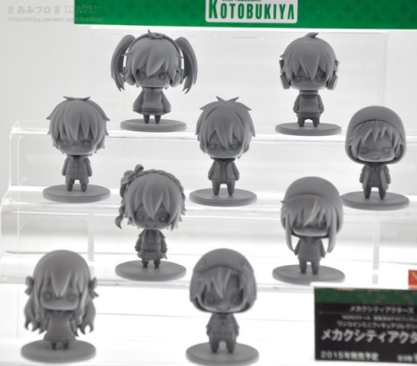 Mekaku City Actors - One Coin Figure Series (Kotobukiya)